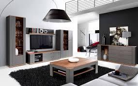 wohnzimmer set grau und sangallo eiche woody 77 00754
