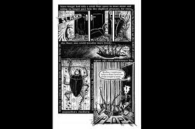A Page From Peter Kupers 2003 Graphic Adaptation Of Franz Kafkas The Metamorphosis