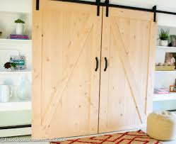 Barn Door Trend Pallet Sliding Barn Doors Shipping Pallets Barn Doors Remodelaholic 35 Diy Rolling Door Hdware Ideas Ana White Cabinet For Tv Projects The Turquoise Home Fabulous Sliding Door Ideas Space Saving And Creative When The Wifes Away Hulk Will Play Do Or Tiny House Designs And Tutorials From Thrifty Decor Chick 20 Tutorials
