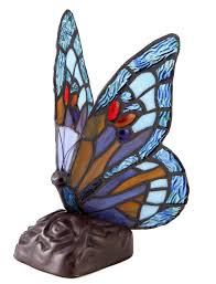 Tiffany Style Lamps Canada by Tiffany Style Dragonfly Unique Stained Glass Desk Table Lamp