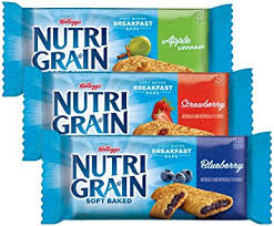 Kelloggs Nutri Grain Cereal Bars 36 Count