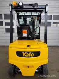 100 Yale Lift Trucks Used ERP25VL Electric Forklift Trucks Year 2017 Price 39114