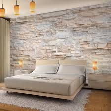 fototapeten 396 x 280 cm steinwand 3d effekt vlies wanddekoration wohnzimmer schlafzimmer deutsche manufaktur beige 9082012a