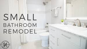 Remodeling Small Bathroom Ideas And Tips For You Diy Small Bathroom Remodel Bath Renovation Project