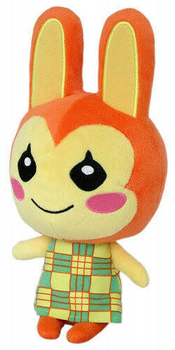Little Buddy Animal Crossing Leaf Bunnie Stuffed Plush Toy - 7""