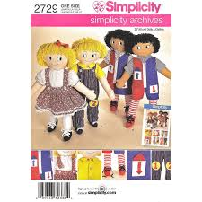 Simple Doll Clothes Sewing Pattern