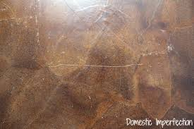 Laminate Flooring Bubbles Due To Water by My Paper Bag Floor One Year Later Domestic Imperfection