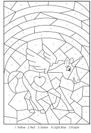 Pixel Art Licorne Facile À Réaliser Unicorns 예술 그림 펄러
