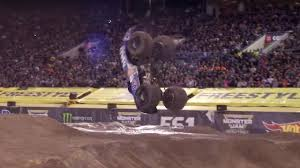 100 Monster Truck Backflip Watch A Monster Truck Do A Front Flip Top Gear