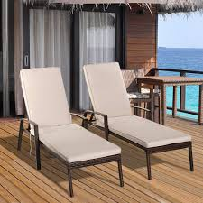 Tangkula Set Of 2 Patio Furniture Outdoor Rattan Wicker Lounge Chair Set  Adjustable Poolside Chaise With Armrest And Removable Cushions St Kitts Lounge Chairs Set Of 2 Panama Jack Key Biscayne Antique And Brown Outdoor Chair Set With Ottoman Piece Walker Edison Fniture Company Removable Cushions Wood Patio Gray 2pack Telescope Casual Larssen Cushion Swivel Rocker Side Table Abbots Court Cosco Alinum Chaise Costway 3 Wicker Rattan Steel Black Latvia Midcentury Ottoman By Corvus Priest Calvin Hee From Hay Chairset Blue