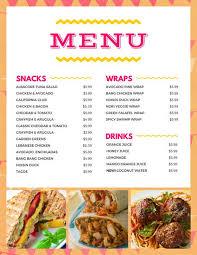 snack bar cuisine snack bar templates by canva