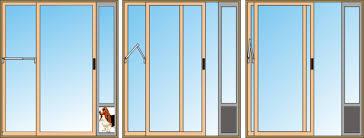 Best Pet Doors For Patio Doors by Patio Shades On Patio Ideas For Best Pet Patio Door Home