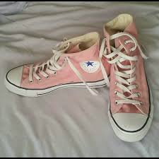 Converse Light Pink Converse High Tops from Ginny s closet on
