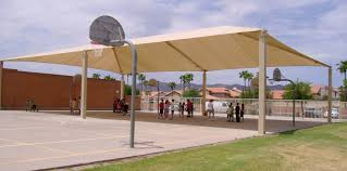 Outdoor Basketball Court Shade