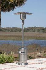 Fire Sense Deluxe Patio Heater Stainless Steel by Fire Sense Fire Pits And Patio Heaters The Fire Pit Store
