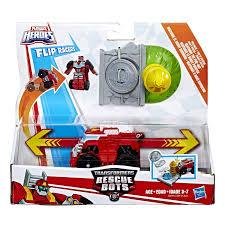 Playskool Heroes Transformers Rescue Bots Flip Racers Heatwave The ...