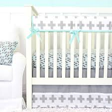 grayson s gray crib bedding caden lane