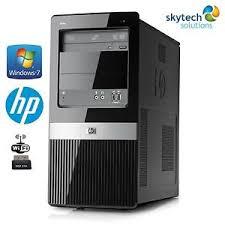 dell bureau cheap windows 7 pro desktop pc mini tower fast hp dell acer lenovo