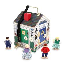 Plan Toys Victorian Dollhouse Set TheTot