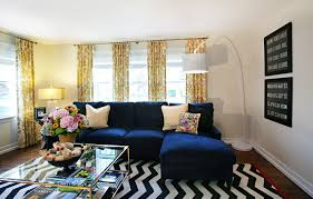fantastic yellow and white chevron curtains decorating ideas