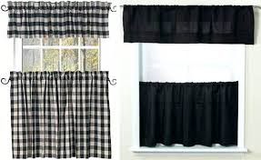 White Kitchen Curtains With Black Trim by White Kitchen Curtains With Black Trim Full Size Of Red And Blue
