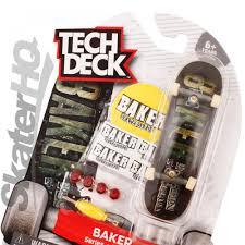 Tech Deck Finger Skateboard Tricks by Tech Deck Baker Justin Figueron Series 4 Skater Hq