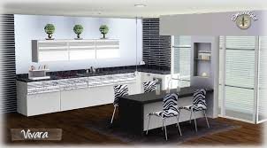 Cool Sims 3 Kitchen Ideas by My Sims 3 Blog Vivara Kitchen By Simcredible Designs