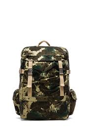Oakley Kitchen Sink Backpack Camo by Scotch U0026 Soda Allover Printed Canvas Backpack In Green For Men Lyst