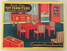 Warren Paper Products Co Built Rite Play Time Doll House