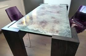 table bureau verre les tables sur mesure ascenso design