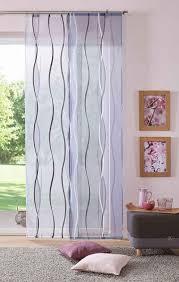 schiebegardine dimona my home klettschiene 2 stück fertiggardine inkl befestigungszubehör transparent