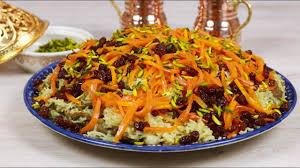 afghanischer kabuli reis i qabili palao qabuli palaw i ramadan mit cookbakery