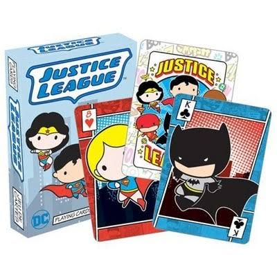 DC Chibi Playing Cards