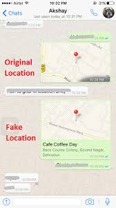 How to send Fake Location on WhatsApp