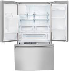 Counter Depth Refrigerator Dimensions Sears by Counter Depth French Door Refrigerator With Wave Touch Controls
