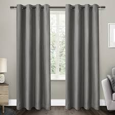 Light Filtering Thermal Curtains by Amalgamated Textiles Eglinton Solid Blackout Thermal Curtain