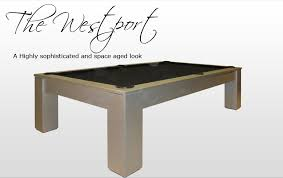 Dining Room Pool Table Combo Canada by Golden West Pool Tables