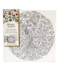Look At This Secret Garden Peacock Coloring Canvas On Zulily Today