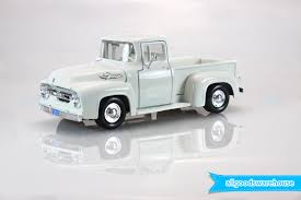 1956 Ford F-100 Pickup Truck 1:24 Scale American Classic Die-cast ... 1956 Ford Pickup Truck F100 Kustom Sweet Driver Ready To Go Drive Parts 50l V8 Dohc Engine Truckin Magazine Lost Wages Steve Stiwell Total Cost Involved Pick Up Custom Street Rod For Sale Youtube Walldevil That Looks Like A Rundown Old But Isn Gene Simmons Snakebit Sema Live Gallery Cabover Car Hauler Beautiful Hot Steemit Network