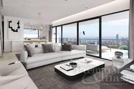 luxus villen mit meerblick in finestrat costa blanca