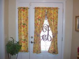 Sidelight Window Curtain Panel by Curtain Custom Made Sidelight Curtain Design In Bright Of Colors