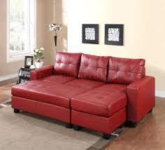 red sectional sofa decorating ideas 4087 with black leather
