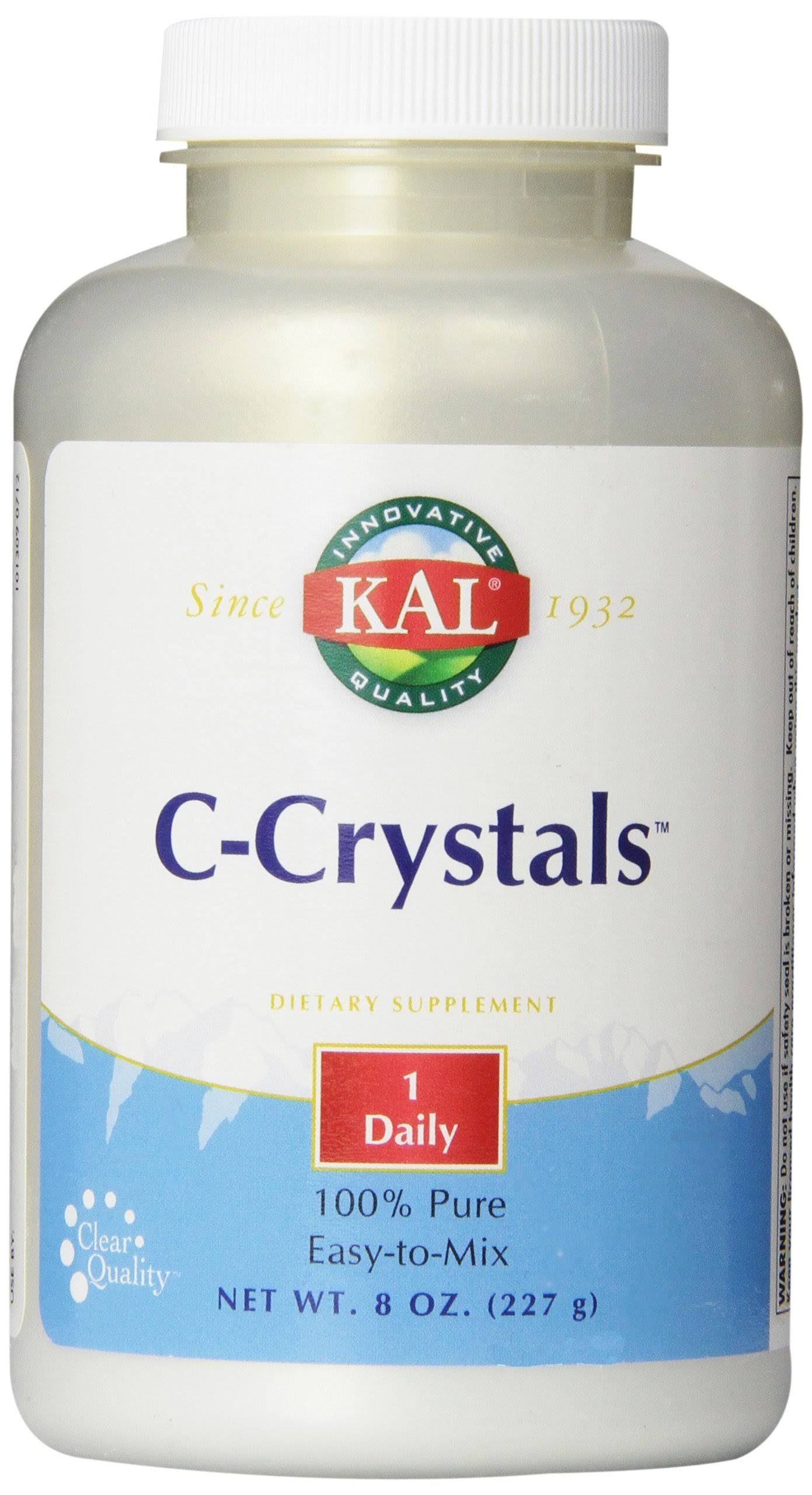 Kal C Crystals Dietary Supplement - 8oz