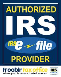 Authorized IRS E File – Trooblr Tax fice