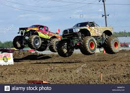 100 Monster Truck Race S Race At Freestyle Competition At 4x4 OffRoad
