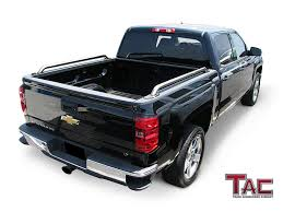 TAC Bed Rails For 2014-2018 Chevy Silverado 1500 // GMC Sierra 1500 ... 2008 Chevy Silverado 2wd Lifted Truck For Sale Youtube Thrghout 4 Images Of Matte Black Top Accsories Full Review Youtube 2002 1500 Brush Guard Unique Grille Ranch Hand Silverado Bumpers 2013 Rear Bumper 2015 Gmc Battle Armor Designs Amazon Parts Caridcom 2500hd 3500hd Heavy Duty Commercial Work