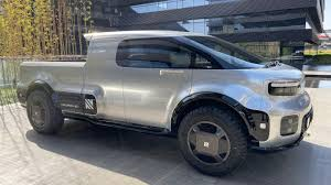 100 Pickup Truck Sleeper Cab Unlike Tesla Cybertruck Neurons TOne Looks Like An