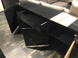 ambiente sideboard quadra schwarz grau eiche wohnzimmer xxxlutz