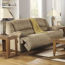 hogan 2 seat reclining sofa in mocha nebraska furniture mart