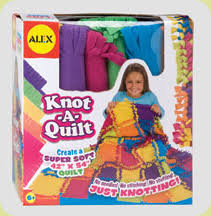 Kid Treasures No Sew Quilt